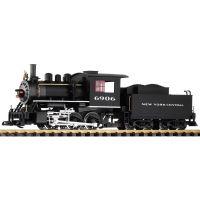 Piko 38211 Gőzmozdony 0-6-0 Mogul NYC II-III hangdekóderrel és füstgenerátorral G kerti vasút (hangminta)
