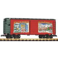 Piko 38834 Teherkocsi karácsonyi reklámmal G kerti vasút