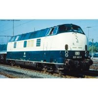 Piko 52605 ~dízel mozdony/Soundlok BR 221 DB IV, blau-beige + dekoder