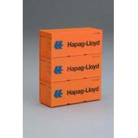 Piko 56202 Konténer szett Hapag-Lloyd 3x20