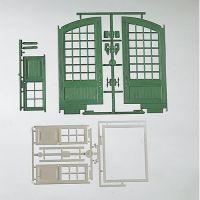 Piko 62800 Ajtókészlet fűtőházhoz kerti vasút G