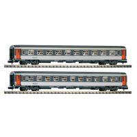 Piko 94324 Személykocsi szett Corail 1.o és 2.o, SNCF IV-V