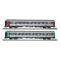 Piko 94326 Személykocsi-szett Corail 1.o. és 2.o. fülkés, SNCF IV-V
