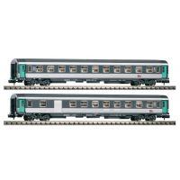 Piko 94327 Személykocsi-szett 2.o. és 2.o. poggyászszakasszal, SNCF VI
