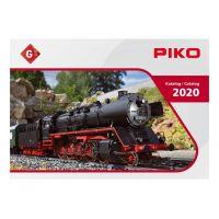 PIKO 99700D G Kerti vasút katalógus 2020, német nyelvű