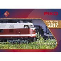 Piko 99707D Katalógus G kertivasút, 2017