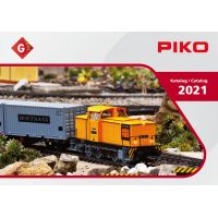 PIKO 99721 G kerti vasút katalógus 2021