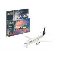 Revell 36883 Embraer 190 Lufthansa makett szett