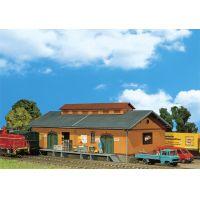 Faller 120247 Vasúti raktárépület