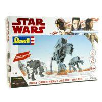 Revell 06761 Star Wars First Order Heavy Assault Walker, összepattinthatós, hang- és fényeffekttel