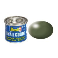 Revell 32361 olive zöld selyem makett festék