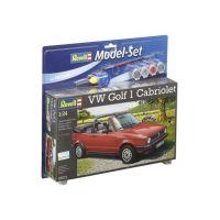 Revell VW Golf 1 Cabrio 1/24 makett