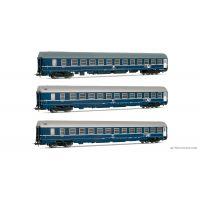 Rivarossi HR4169 Hálókocsi szett MU TEN, FS IV