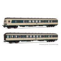 Rivarossi HR4183 Személykocsi szett vezérlőkocsi (Karlsruhe, BDn) és 2.o. (Bnr), DB IV