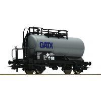 Roco 56260 Tartálykocsi fékhíddal Zcs, GATX VI