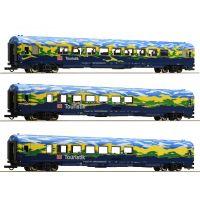 Roco 64164 Személykocsi szett Touristik, DB AG V, 2. szett