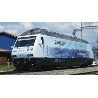 Roco 73269 Villanymozdony Re 465 016 Stockhorn, BLS VI, hangdekóderrel