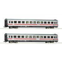Roco 74089 Személykocsi szett 2.o. Bvmz, IC-festés, DB AG VI