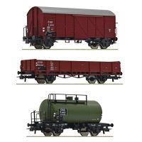 Roco 76018 Teherkocsi készlet, CSD III