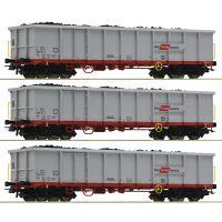 Roco 76082 Nyitott teherkosi szett Eanos, Rail Cargo Austria, ÖBB VI