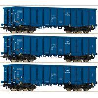 Roco 76128 Nyitott teherkocsi szett Eaos, PKP Cargo VI
