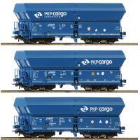 Roco 76133 Önürítős kocsi szett Falns, PKP Cargo VI