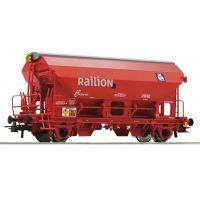 Roco 76579 Szétnyílótetejű kocsi Tds, Railion, DB AG V