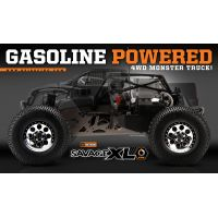 RTR Savage XL OS gas engine