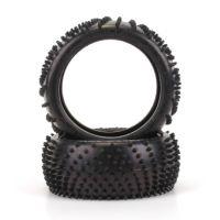 Spiral 1/8-as gumi, sárga keménység ,1 pár U6721