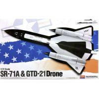 SR-71A + GTD-21 Drone
