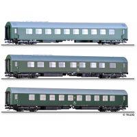 Tillig 01003 Személykocsi szett Salonwagenzug 4, DR IV
