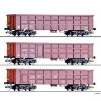 Tillig 01714 Nyitott teherkocsi szett Eaos, 'On Rail GmbH' VI