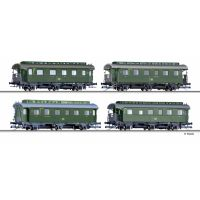 Tillig 01728 Személykocsi szett, DB III