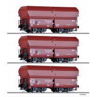"""Tillig 01733 Önürítős kocsiszett szénrakománnyal OOt,""""Kohlenzug 2"""", DRG II"""