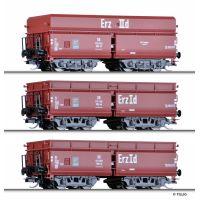 Tillig 01735 Önürítős kocsiszett OOtz 43 és OOtz 44, DB III, Erzzug 2
