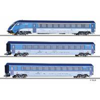 Tillig 01754 Személykocsi szett vezérlőkocsival 'Railjet', CD VI