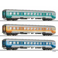 Tillig 01756 Személykocsi szett DB-Designstudien, DB IV