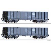Tillig 01797 Nyitott teherkocsi szett Eaos, CTL Logistics (PL) V