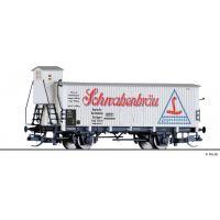 Tillig 17925 Sörszállító hűtőkocsi fékházzal, Schwabenbräu, DRG II