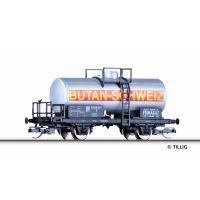 Tillig 95842 Tartálykocsi PRIMAGAZ Butan-Schweiz SBB III