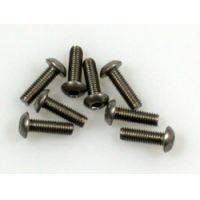 Titanium csavar 3*10 gömbfejü