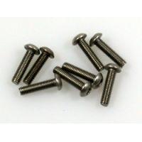 Titanium csavar 3*12 gömbfejü