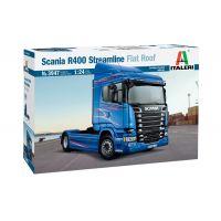 3947s Italeri Scania R400 Streamline ( flat roof ) 1:24