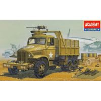 U.S. 2,5 Ton Truck & Accessories 1:72 Academy 13402