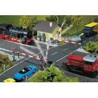 Faller 120171 Vasúti átjáró sorompóval, motoros
