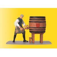 Viessmann 1546 Serfőző mester sörcsapolás
