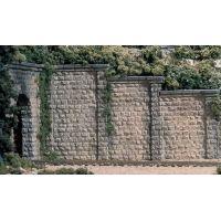 Woodlands C1259 Retaining Walls Támfal (gipsz), 3 db
