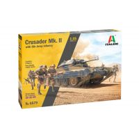 Italeri 6579S Crusader Mk. II with 8th Army Infantry