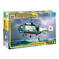 ZVEZDA 7247 Zvezda KA-27 Rescue Helicopter 1:72 (7247)