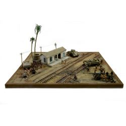 Italeri 6181 EL ALAMEIN - The Railway Station